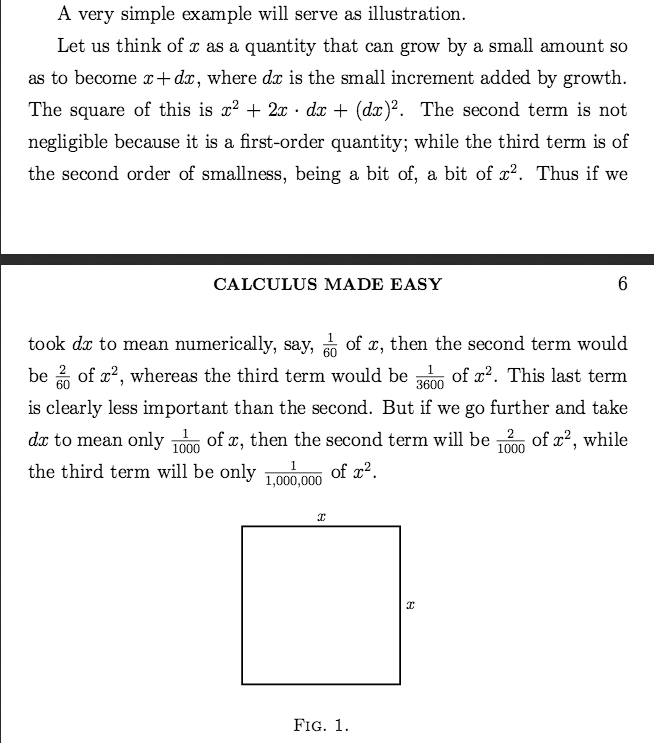Calculus Made Easy by Silvanus Thompson, 3